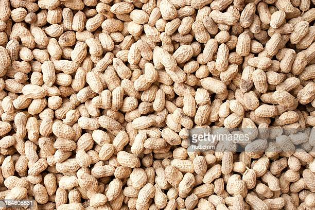 peanuts background - nut food stock photos and pictures