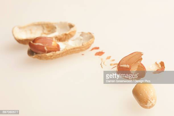 Peanuts out of the shell