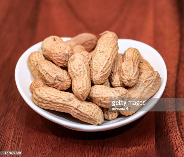 peanuts - peanut food stock pictures, royalty-free photos & images