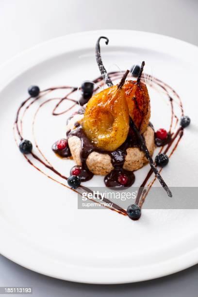 Birne dessert