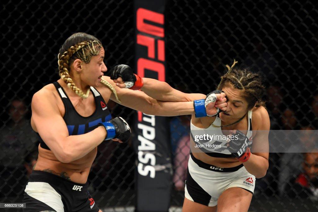 UFC 210: Calvillo v Gonzalez : News Photo