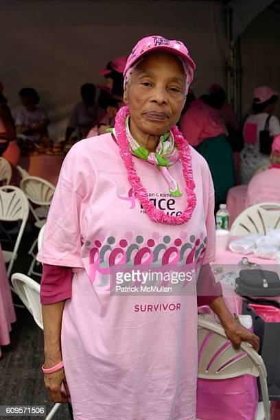Pearl Griffith Eccles attends ANNE TAYLOR Race For The Cure Team and Survivors at Central Park on September 9 2007 in New York City