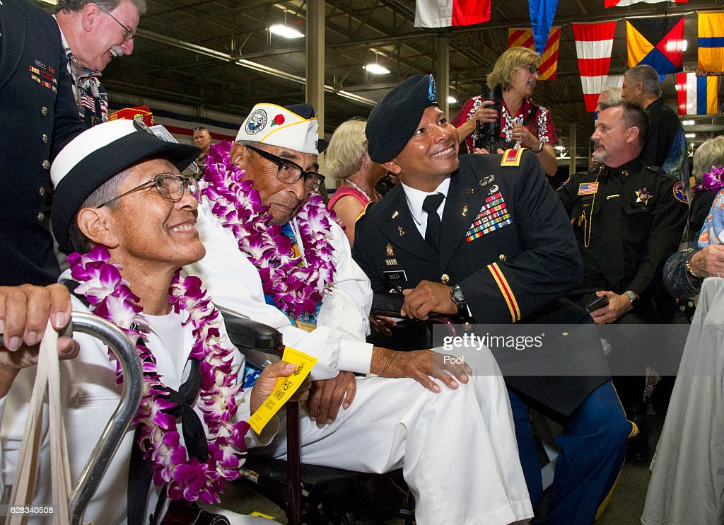 75th Commemoration Of Attacks On Pearl Harbor Held In Hawaii : News Photo