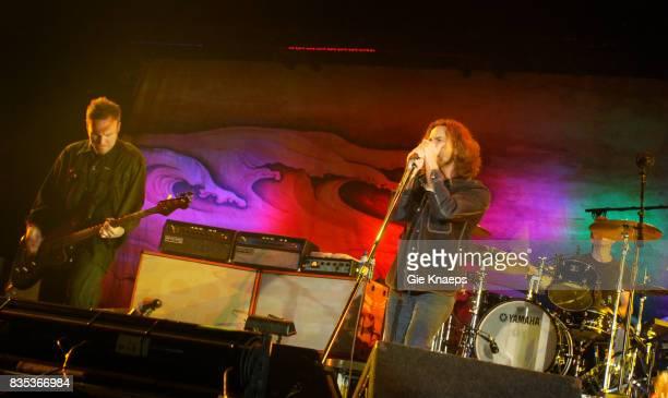 Pearl Jam Eddie Vedder Jeff Ament Rock Werchter Festival Werchter Belgium