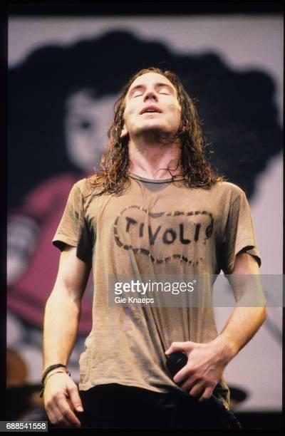 Pearl Jam, Eddie Vedder, Pinkpop Festival, Landgraaf, Holland, .