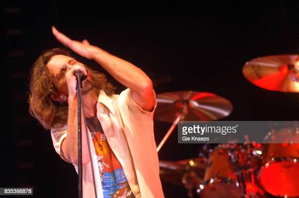 Pearl Jam Eddie Vedder Sportpaleis Antwerp Belgium