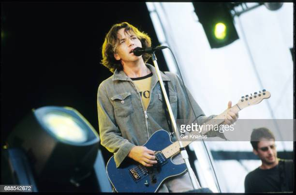 Pearl Jam, Eddie Vedder, Stone Gossard, Pinkpop Festival, Landgraaf, Holland, .