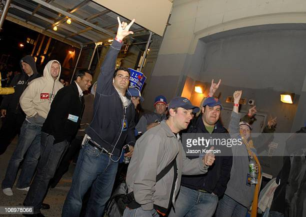 Pearl Jam Fans during Fans Await The Release of Pearl Jam's New Album Pearl Jam at Tower Records in New York City May 1 2006 at Tower Records in New...