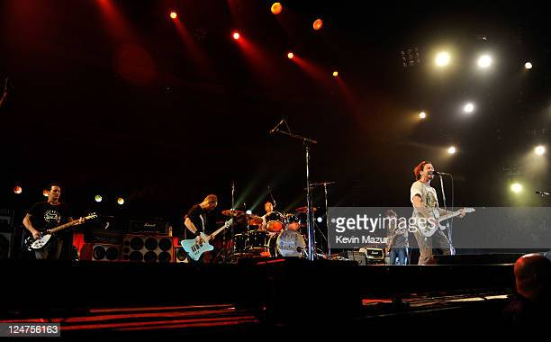 Pearl Jam performs at Air Canada Centre on September 11 2011 in Toronto Canada