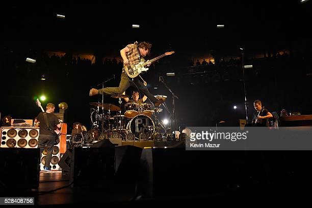Pearl Jam performs at Wells Fargo Center on April 29 2016 in Philadelphia Pennsylvania