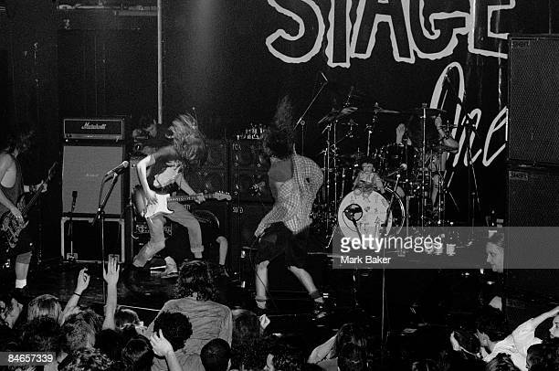Pearl Jam play live at the ULU London 2nd March 1992