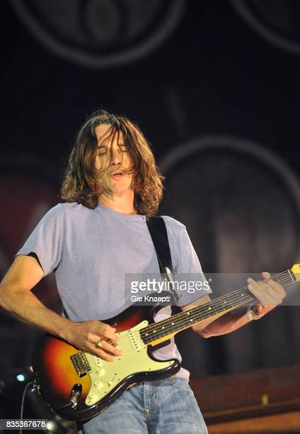 Pearl Jam Stone Gossard Rock Werchter Festival Werchter Belgium