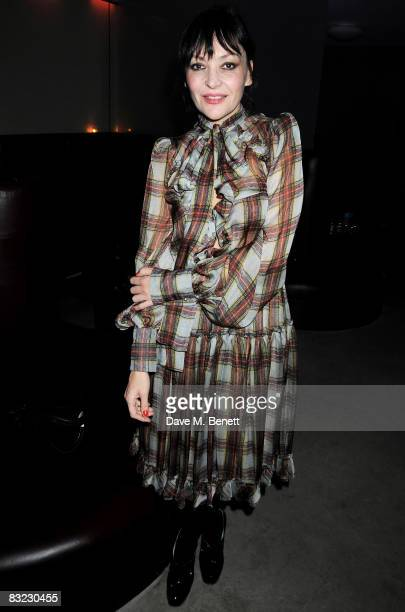 Pearl Lowe attends The Diesel xXx Creative Experiment Party as Diesel celebrates its 30th Birthday at Matter in the O2 Arena on October 11 2008 in...