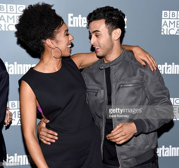Pearl Mackie and Fady Elsayed attend EW Hosts An Evening With BBC America on October 6 2016 in New York City