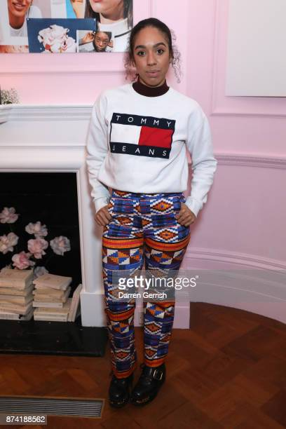 Pearl Mackie attends the Glossier UK launch party on November 14 2017 in London England