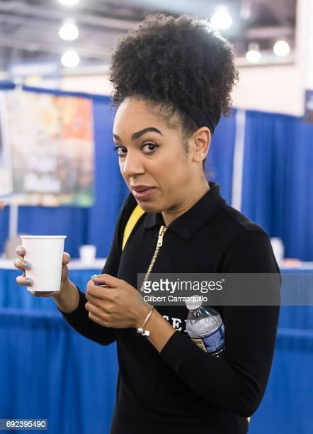 Pearl Mackie attends Wizard World Comic Con Philadelphia 2017 Day 4 at Pennsylvania Convention Center on June 4 2017 in Philadelphia Pennsylvania