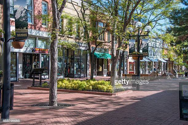 Pearl Street Mall, Downtown Boulder