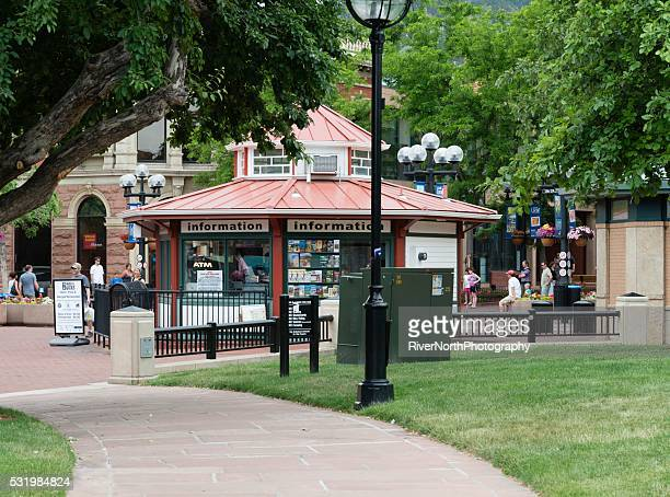 Pearl Street Mall in Boulder, Colorado