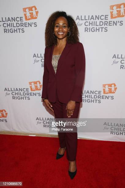 Pearlena Igbokwe attends The Alliance For Children's Rights 28th Annual Dinner at The Beverly Hilton Hotel on March 05 2020 in Beverly Hills...