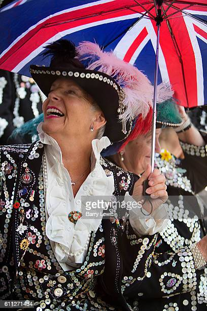 Pearly Kings and Queens Harvest Festival celebrations at Guildhall Yard The annual event features early English entertainment including maypole...