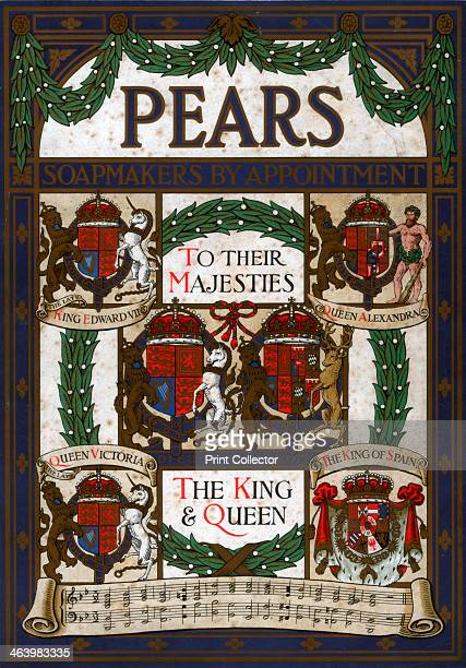 Pears soapmakers by appointment to the majesties c19th century