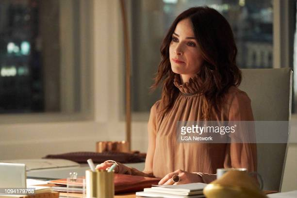 SUITS 'Peas in a Pod' Episode 814 Pictured Abigail Spencer as Dana Scott