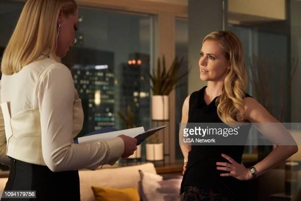 SUITS 'Peas in a Pod' Episode 814 Pictured Katherine Heigl as Samantha Wheeler Amanda Schull as Katrina Bennett