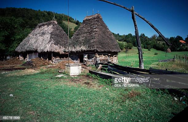 Peasant house near ClujNapoca Romania