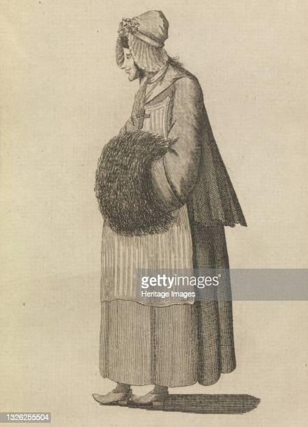 Peasant of the Alps, June 1, 1771. Artist Unknown.