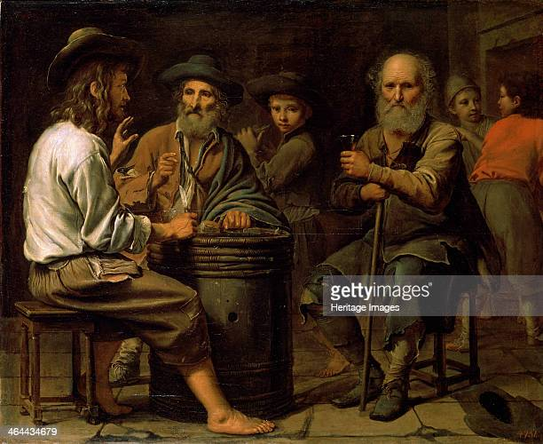 'Peasants in a Tavern', 1640s. Found in the collection of the State Hermitage, St Petersburg.