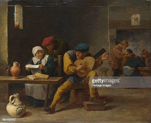 Peasants making Music in an Inn c 1635 Found in the collection of the National Gallery London