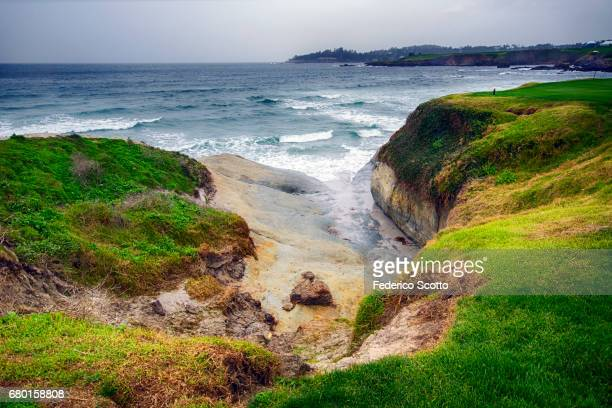 pebble beach - pebble beach california stock pictures, royalty-free photos & images