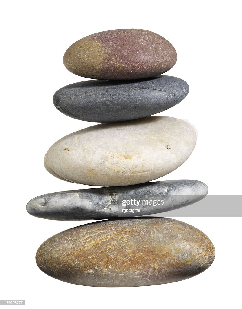 Pebble pile : Stock Photo