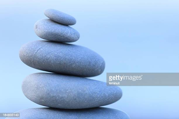 """Kieselsteine, balance und """"Zen"""""""