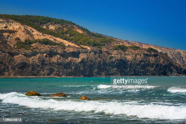 a pebbles beach at summer - 2007 stock pictures, royalty-free photos & images