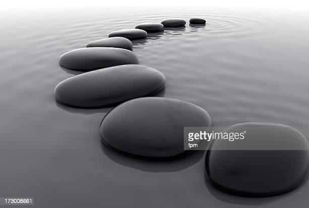 Pebbles in Water III