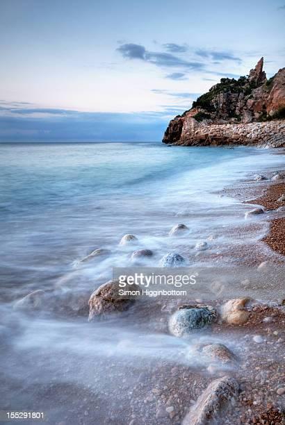 pebbles, moraira, costa blanca - simon higginbottom stock pictures, royalty-free photos & images