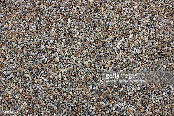 Pebbles, shingle or gravel