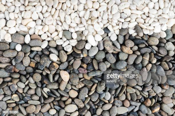 pebbles stone pattern, abstract nature texture background. - marble rock stock photos and pictures