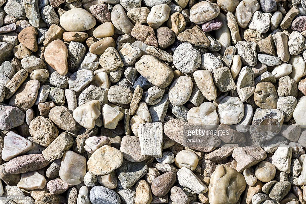 pebbles texture : Stock Photo