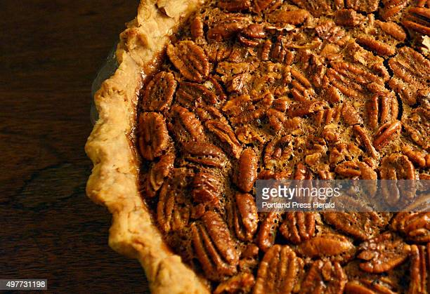 Pecan Pie by James Schwartz for the Portland Press Herald signature Thanksgiving dish Thursday November 12 2015