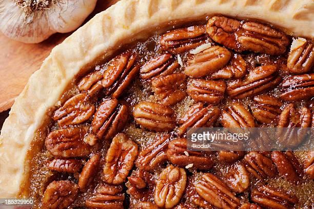pecan pie - pecan pie stock photos and pictures