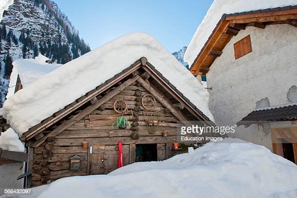 Peccia Lavizzara Valley Switzerland