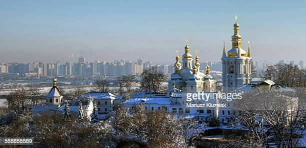 Pechersk Lavra and new town skyline.