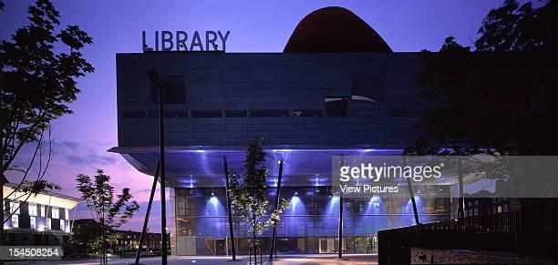 Peckham Library London United Kingdom Architect Alsop Architects Limited Peckham Library Panoramic Of Main Facade At Night