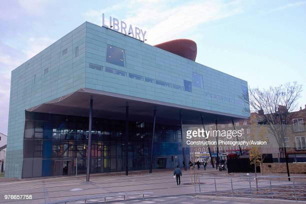 Peckham Library, London, United Kingdom, Designed by Will Alsop,.