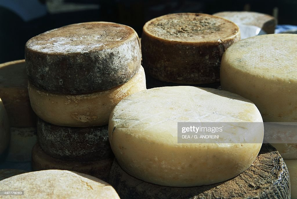 Pecorino cheese of Garfagnana... : News Photo