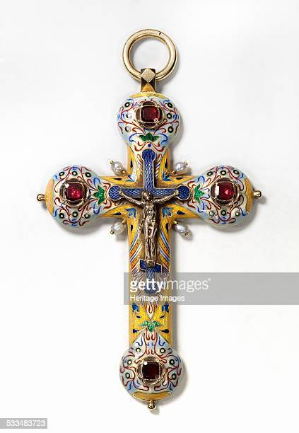 Pectoral cross Between 1899 and 1908 Found in the collection of State United Museum Centre in the Kremlin Moscow