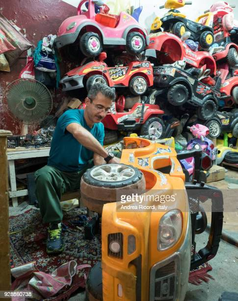 Pedal cars mechanic, Iran