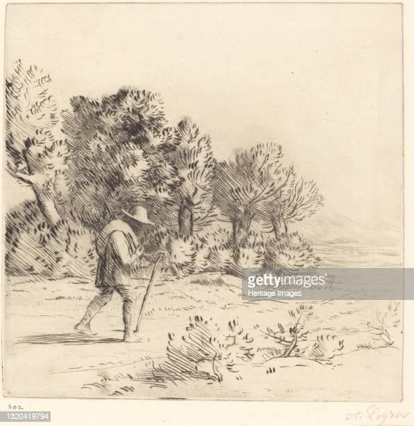 Peddler . Artist Alphonse Legros.